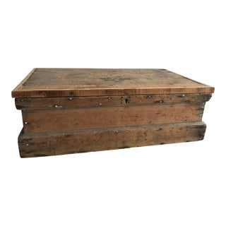 Vintage Pine Chest For Sale