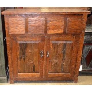 Antique Indian Teak Cabinet Preview