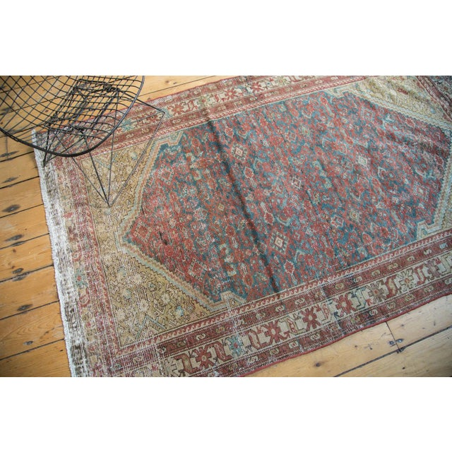 "Antique Malayer Rug - 4'1"" x 6'7"" - Image 7 of 10"