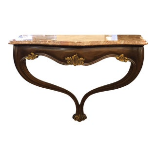 Vintage Style Wall Mount Console Table