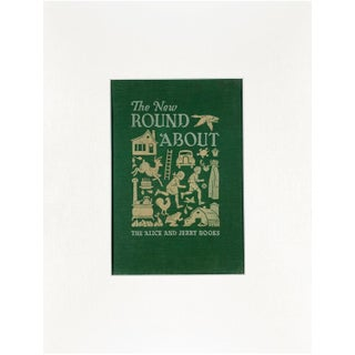 "Vintage ""The New Round About"" Book Cover Art For Sale"