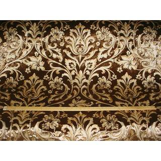 Lee Jofa Pallanza Silver Fox Silk Velvet Drapery Upholstery Fabric For Sale