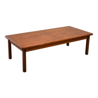 Danish Modern Teak Coffee Table For Sale