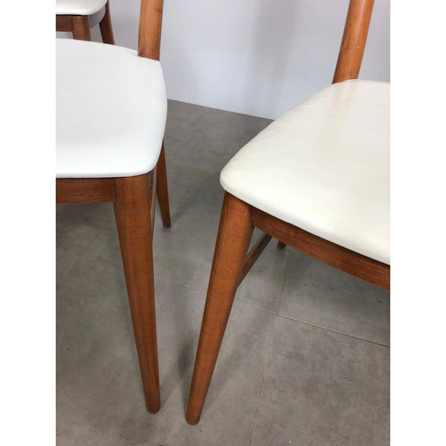 White Set of 10 Paul McCobb Cane Dining Chairs, Circa 1950's For Sale - Image 8 of 9