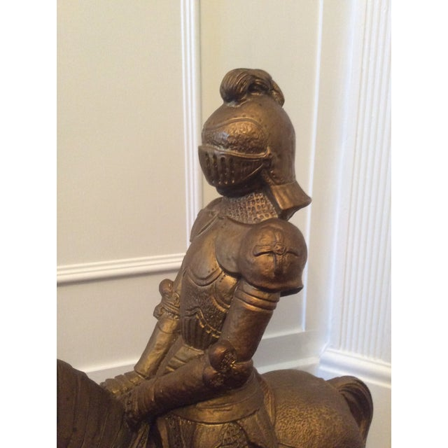 1980s Vintage Medieval Knight Figure For Sale - Image 5 of 13