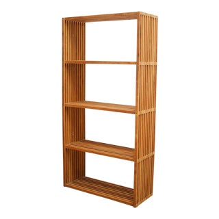 Mid-Century Teak Display Shelves or Bookcase