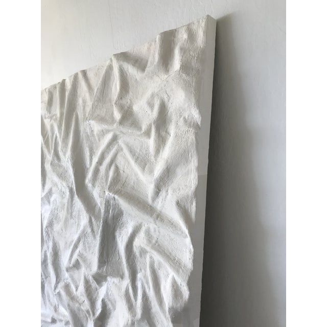 Plaster Extra-Large Minimalist Plaster Painting For Sale - Image 7 of 10