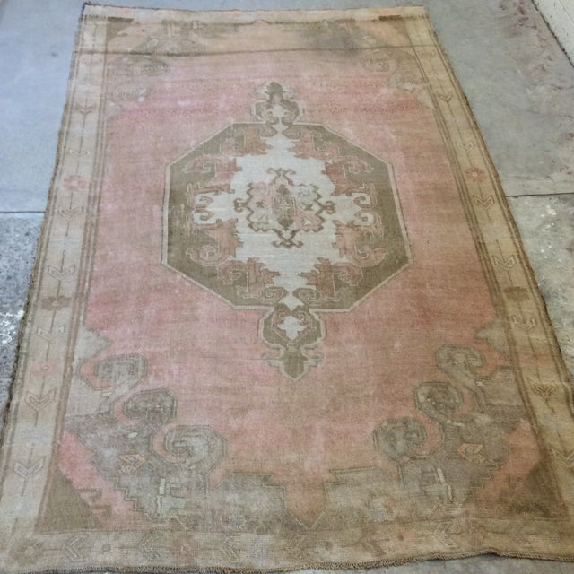 "Turkish Anatolian Rug -6'6""x10'6"" For Sale - Image 10 of 13"