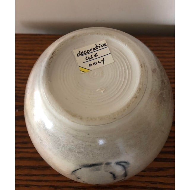 Final Price! Ceramic Signed Pottery Vase For Sale In South Bend - Image 6 of 8