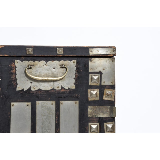 Silver Late 19th Century Korean Wedding Chest For Sale - Image 8 of 13