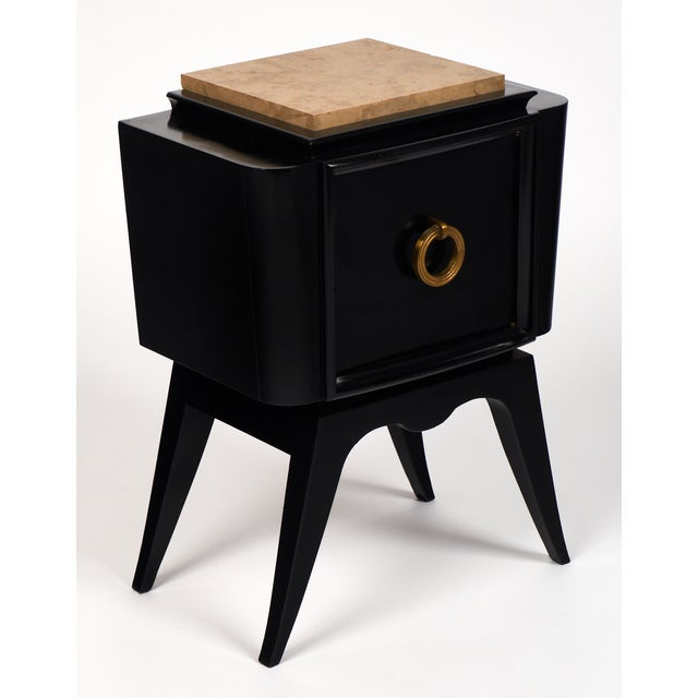 André Arbus-Style Art Deco Nightstands - A Pair - Image 5 of 10