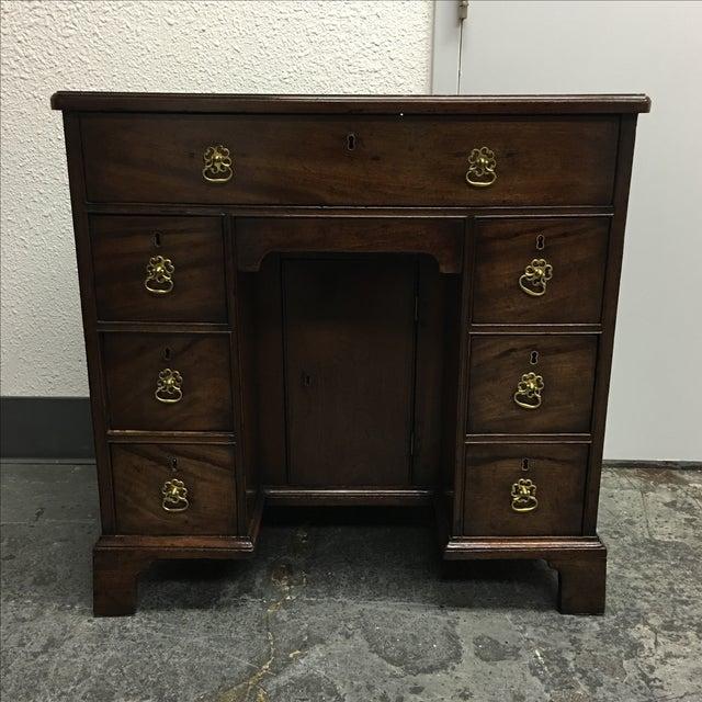 Antique English Bonnet Desk - Image 2 of 9