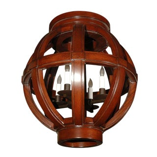 Paul Marra Carved Wood Sphere