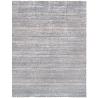 """Pasargad Transitional Silk & Wool Rug- 9' 1"""" X 11'11"""" For Sale"""