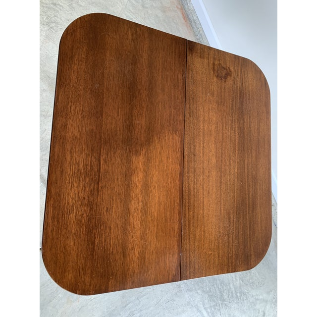 Antique Mutual Furniture Co. Flip Top Mahogany Card Table For Sale In Lexington, KY - Image 6 of 12