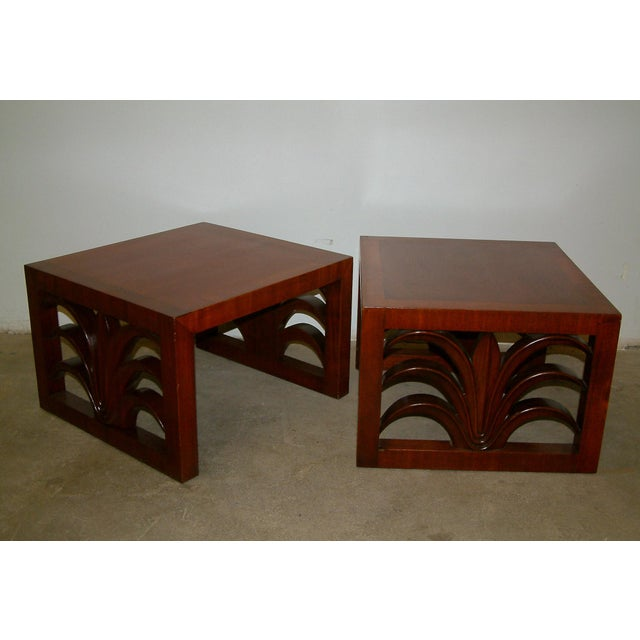 Circa 1950 United States Custom T. H. Robsjohn Gibbings End Tables - Pair For Sale In Richmond - Image 6 of 7