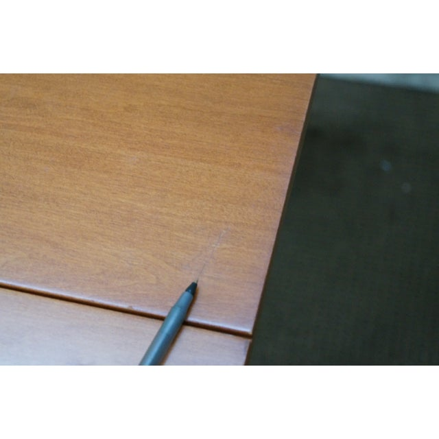Maple Drop Leaf Harvest Dining Table - Image 6 of 10
