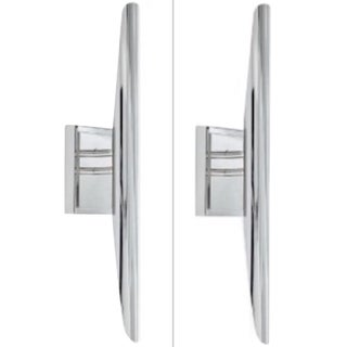 Regina Andrew Contemporary Polished Nickel Redford Sconces Pair For Sale