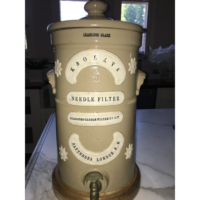 Antique London Water Filter Lamp - Image 4 of 6