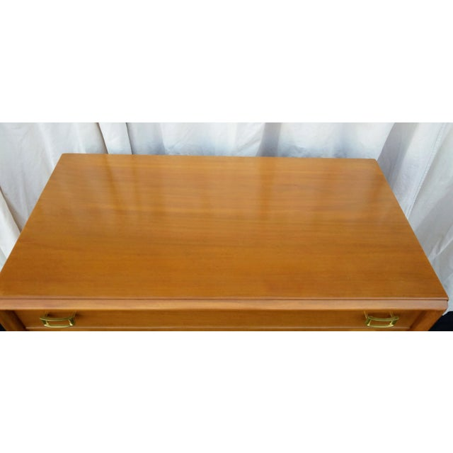 1950s Mid-Century Modern Paul Frankl for Johnson Furniture Co. Gentleman's Chest For Sale - Image 9 of 12