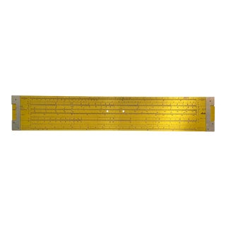 1960 Pickett Slide Rule Display Model Teaching Classroom Aid For Sale