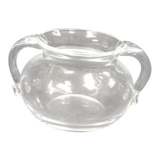 1960s Steuben Crystal Sugar Bowl For Sale