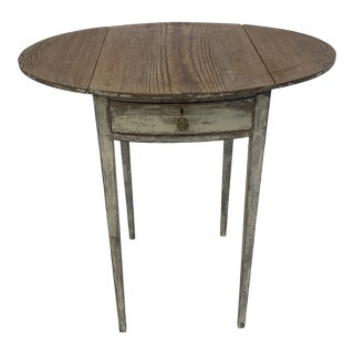 19th Century French Drop Leaf Table For Sale