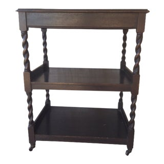 Antique Tea Trolley Server For Sale