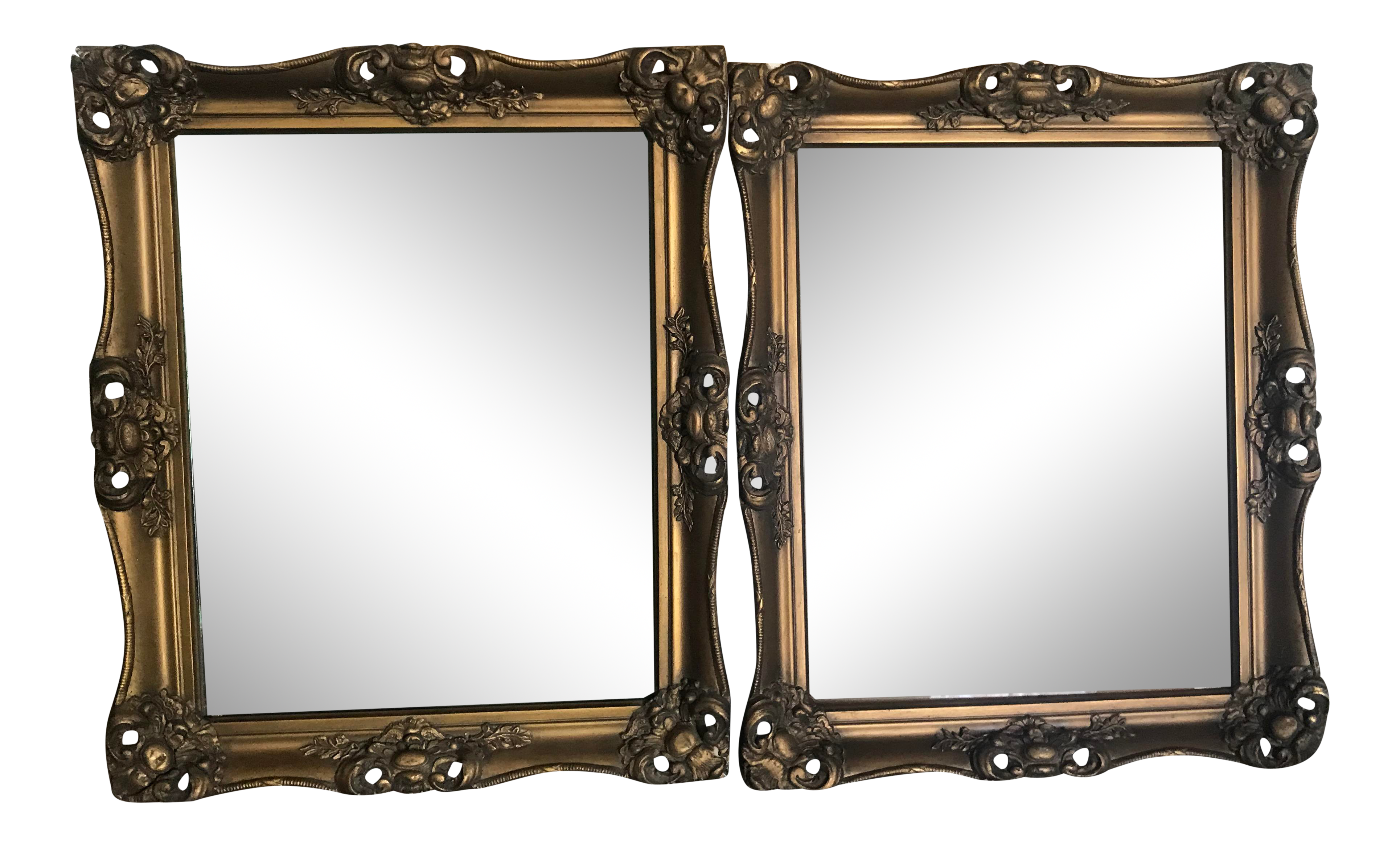Large Antique Gilt Wood Picture Frame Chairish