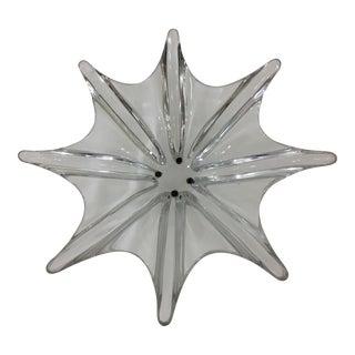 Mid-Century Modern Baccarat Octopus Crystal Dish