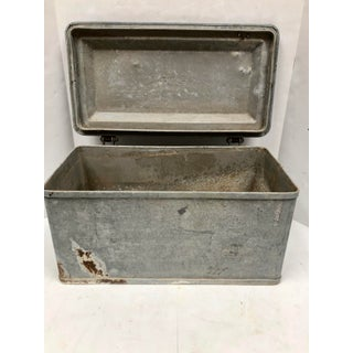 Antique Galvanized Metal Bronx Ice Chest Preview