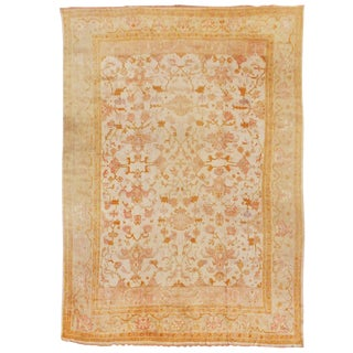 Oversized Oushak Carpet For Sale