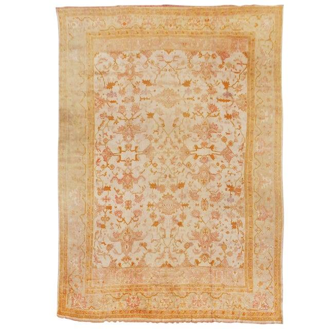Oversized Oushak Carpet For Sale