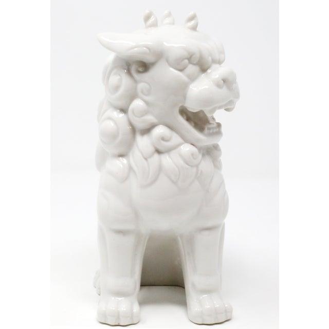 Vintage Blanc De Chine Foo Dog Figurine For Sale In Tampa - Image 6 of 12