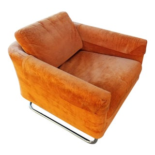Selig of Monroe Mid-Century Low Profile Lounge Chair
