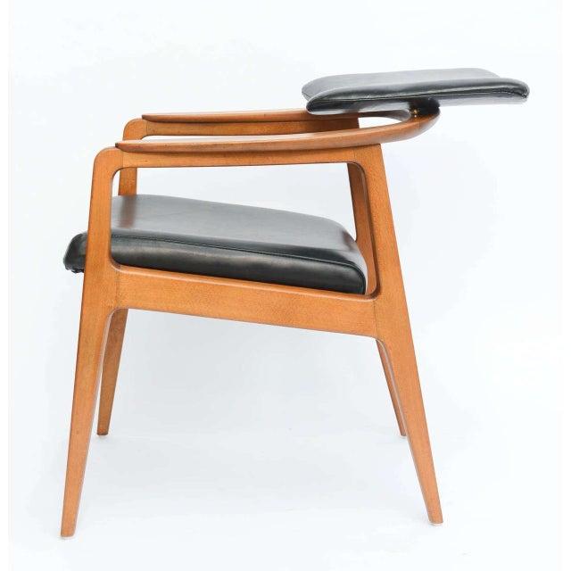 Sigvard Bernadotte for France & Daverkosen Danish Modern Teak Lounge Armchair - Image 5 of 11