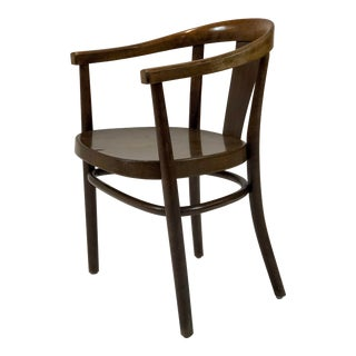 1930s Danish Modern Soren Hansen Steam Bentwood Dan Chair
