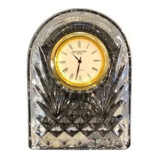 "Waterford Crystal ""Dome"" Clock For Sale"
