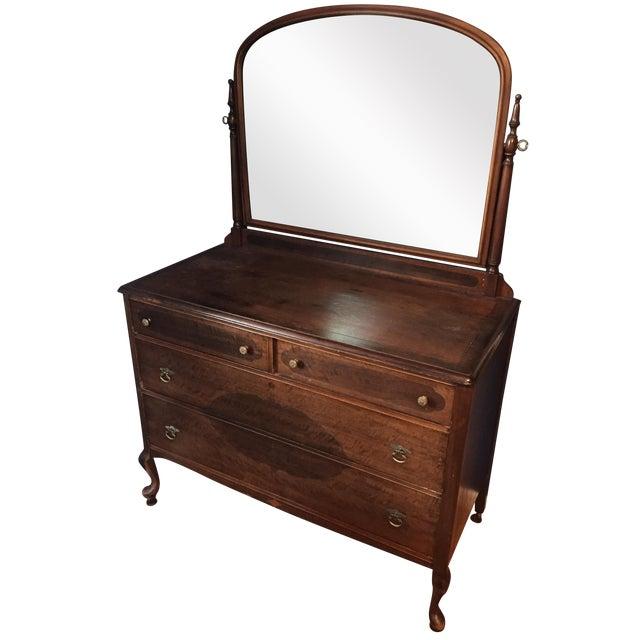 Vintage Dresser with Mirror - Image 1 of 4