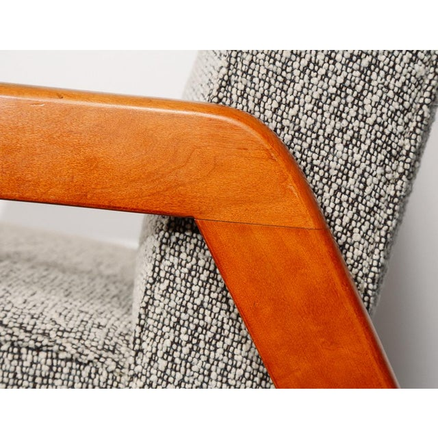 Wood Russel Wright Slipper Chair For Sale - Image 7 of 9