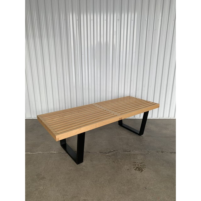 Terrific George Nelson Platform Bench Chairish Gmtry Best Dining Table And Chair Ideas Images Gmtryco