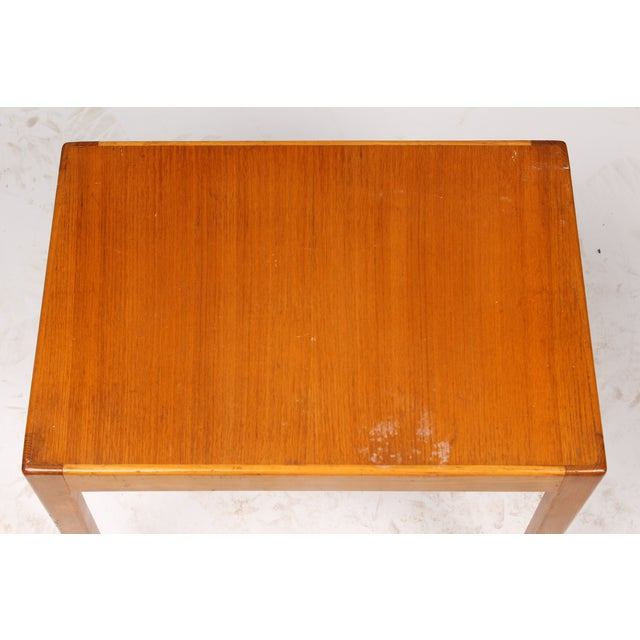 1970s Danish Elm Side Table - Image 3 of 3