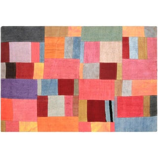 "Nalbandian - 1960s Turkish Patchwork Kilim - 3'11"" X 5'10"" For Sale"