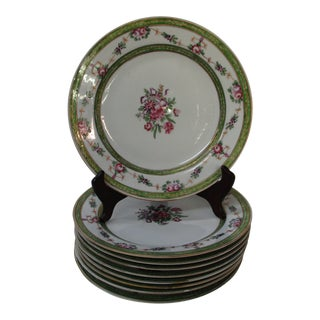 French Porcelain Plates - Set of 10