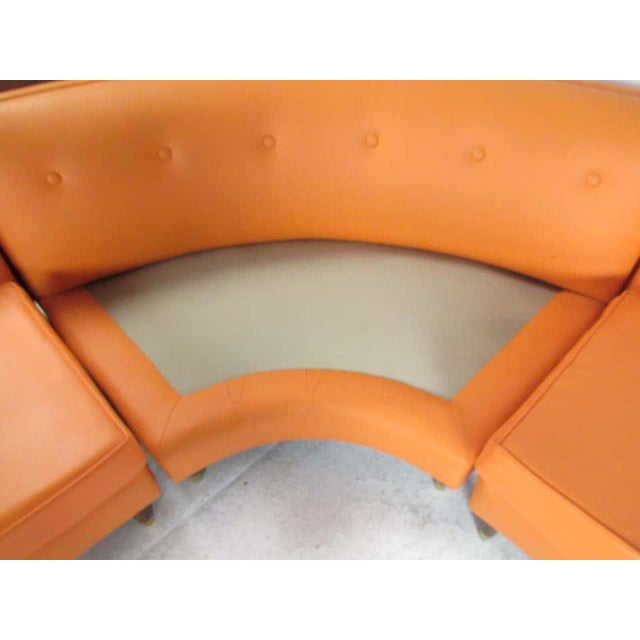 Mid-Century Modern Three-Piece Sectional Sofa For Sale In New York - Image 6 of 13