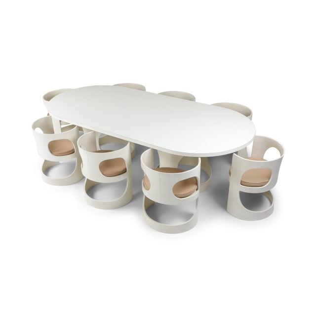 Arne Jacobsen Pre Pop Dining Set for Asko - 1969 For Sale - Image 6 of 12