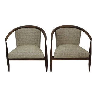 1960s Vintage Kodawood Lounge Chairs--A Pair For Sale