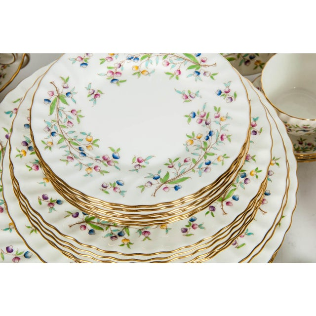 Minton Minton English Full Service Dinnerware for 12 People - 84 Pc. Set For Sale - Image 4 of 13