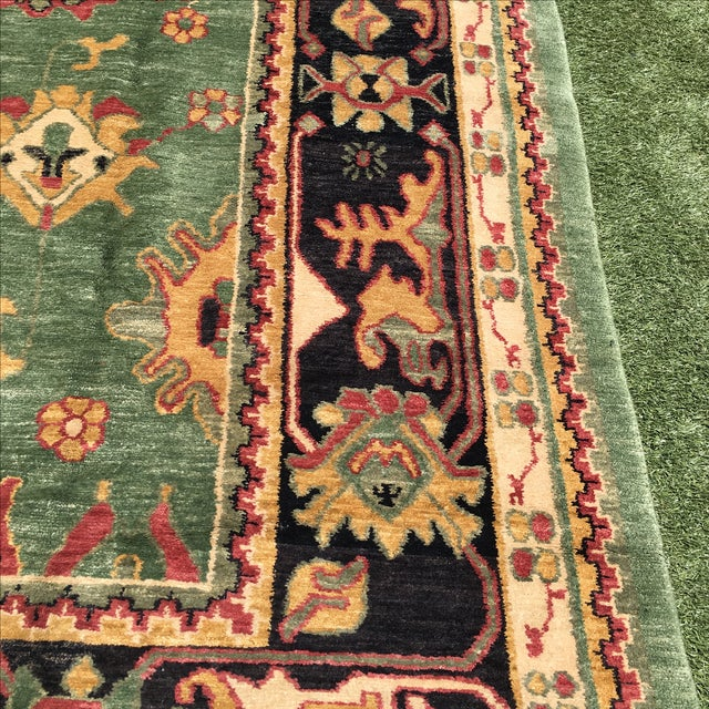 Large Handknotted Nepalese Rug - 9′ × 11′9″ - Image 8 of 11