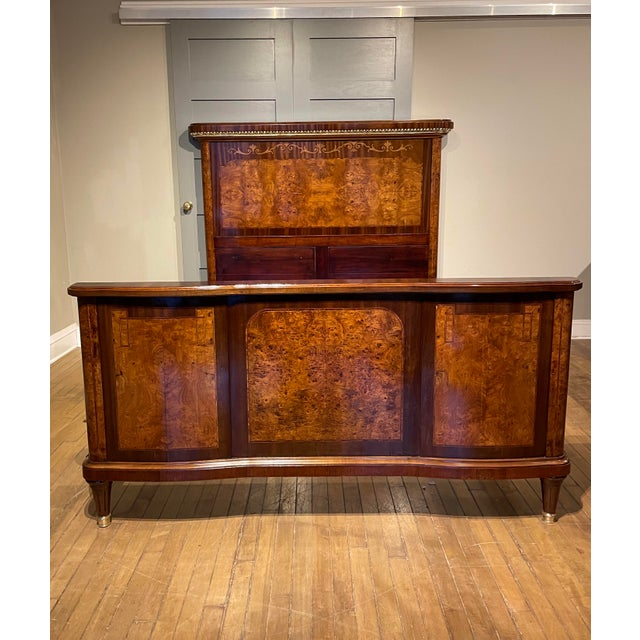 Metal 19th Century French Empire Bed For Sale - Image 7 of 10